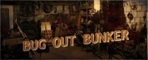 Advertising Graphic for Bug Out Bunker